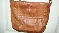 Sonoma Life*Style Brown Shoulder Purse - Leather and Man-Made Materials - Used
