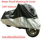 Motorcycle Scooter Cover For Honda VT400 VTX1300 VTX1800 VT750C VT1100C Valkyrie