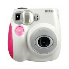 Pink Colour FujiFilm Fuji Instax Mini 7S Instant Photos Films Polaroid Camera
