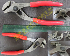 "New Snap On Straight Serrated Jaws Adjustable Joint Pliers 4 3/4"" - AWP45 - USA"