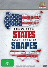 How The States Got Their Shapes (DVD, 2013)