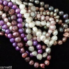 Fresh Water Pearl Ten (10) STRANDS Mixed Sizes & Colors