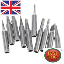 10 Pcs Solder Iron Tip 900M-T For Hakko Soldering Rework Station Tool Silver D1