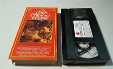 A Child's Christmas in Wales (VHS TAPE) DENHOLM ELLIOTT OOP HTF FREE SHIPPING