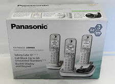 Panasonic KX TGD223N Dect 6 0 Phone 3 Handset Cordless Telephone Answering