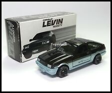 TOMICA TOYOTA COROLLA LEVIN AE86 1600GTV TWIN CAM 16 1/61 MADE IN JAPAN NEW