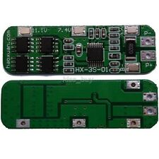 3S 6A Li-ion Lithium Battery 18650 Charger Batterie Protection Board 10.8V