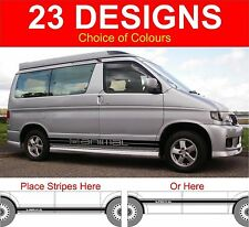mazda bongo side stripe decals surf animal ect sticker