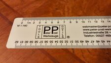 Peter Post Tools Z N HO ARCH Scale Ruler Modeling Layout Planning *NEW $0 SHIP