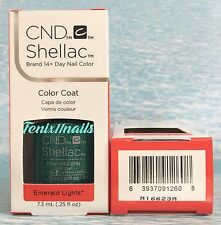 NEW CND Shellac EMERALD LIGHTS 14+ Day UV LED Gel Color Nail Polish ~ STARSTRUCK