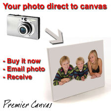 """Your Photo To Canvas - 9"""" x 12"""" - ONLY £5.99!!!!!!!!!"""