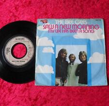 "Single 7"" Bee Gees - Saw a new morning TOP!!"