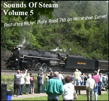 Train Sounds On CD: Sounds Of Steam, Volume 5