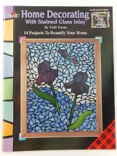 Home Decorating with Stained Glass Inlay Book by Vicki Payne Glass Crafts