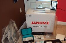 Janome MC15000 Sewing & Embroidery Machine with Loads of Accessories