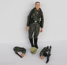 #zS1~  Ultimate Soldier XD- D-Day action figure old face lost color