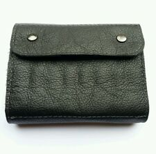 .243 / .264/ .308 Bullet wallet. Black real leather. With studs..16 round.
