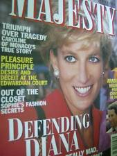 Majesty Magazine V16 #11 Defending Diana, Caroline of Monaco's Story, Charles In
