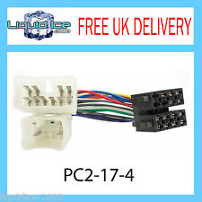 PC2-17-4 Lexus IS 200 ISO Stereo Head Unit Harness Adaptor Wiring Loom Lead