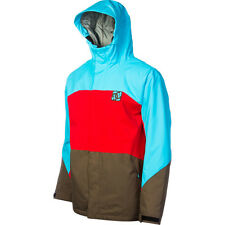 DC Strickland Jacket Mens Sowboard Ski Waterproof Insulated Blue Red Brown XL
