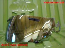 Aftermarket Pinlock Arai L Typ Visier Gold Spiegel Corsair Quantum Viper GT Omni