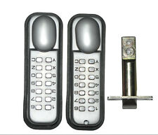Digital Door Lock Keyless Double Password Code Pushbutton Lock Mechanical Entry