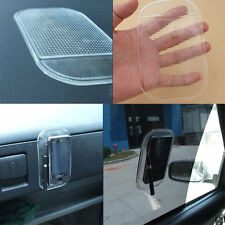 Transparent Rubber Mobile Phone GPS Holder Car Skid Proof Pad Non Slip Bracket
