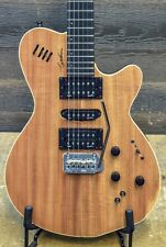 "Godin xtSA Natural Koa HG Limited ""SF"" 3-Voice Electric Guitar w/ Bag #16405116"