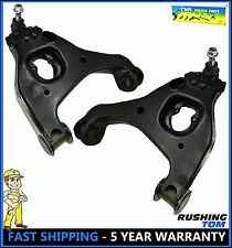 Chevy Silverado C1500 Sierra 1500 2WD (2) Front Complete Lower Control Arm