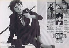 COUPURE DE PRESSE CLIPPING 1982 MARIE-HELENE BREILLAT (2 pages)