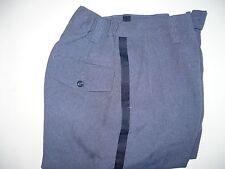 Vtg Ladies Summer USPS Postal Blue Uniform Pants Mail Letter Carrier USA Sz 12