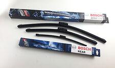 Bosch Scheibenwischer Set mit Spoiler vorne + hinten BMW 3er E91 Touring wipers