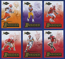 2007 PRESS PASS SE INSIDER INSIGHT  COLLECTORS SERIES FOOTBALL COMPLETE CARD SET