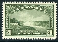 CANADA-1935 20c Olive-Green Sg 349  LIGHTLY  MOUNTED MINT V10733