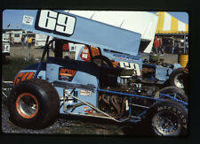 1983 Arcy #69 Sprint Car - Dirt Track - Original 35mm Racing Slide