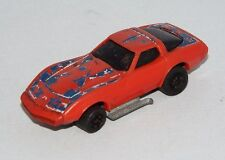 KIDCO Key Cars 1 Loose Vehicle Corvette Red w/ Flag Tampo