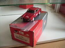 Hand Built Model Tron Lancia Flavia Coupe HF Monte Carlo 1966 in Red on 1:43
