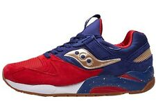 Saucony Grid 9000 Sparring with Sneaks Size 11.5 US S70279-1 8000 6000 Navy Red