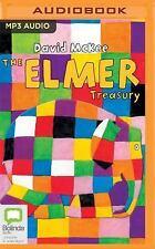 The Elmer Treasury by David McKee (2016, MP3 CD, Unabridged)