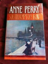 Anne Perry - SOUTHAMPTON ROW - 1st - Signed