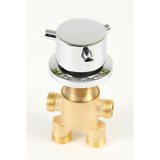 Brass Bathtub Hot and Cold Faucet Shower Tap Mixing Valve Mixer with Diverter
