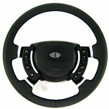 Leather steering wheel Range Rover Vogue L322 GCAT new with chrome spokes Vogue