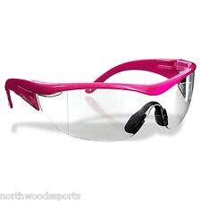 Safety Girl SC-282 Polycarbonate Navigator Safety Glasses Clear Lens Pink Frame