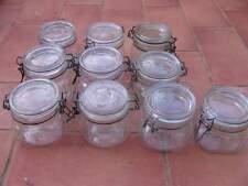 Lotto 10 barattoli contenitori ermetici arbanelle da conserva in vetro 0,5 Litri