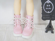 NEW MSD/SDC/SDM/MDD Shoes /Lace up short boots(Pink)