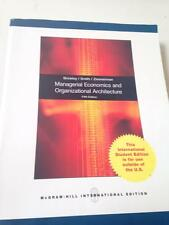 Managerial Economics and Organizational Architecture By. 9780071284806