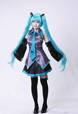 Vocaloid Miku Hatsune Anime Cosplay Costume Full Set NEW