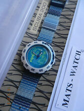 SWATCH+SCUBA LOOMI+SDS900 SKELET-EAU+NEU/NEW