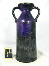 Unusual shaped & glazed 70´s design Otto Keramik pottery  vase  25 cm
