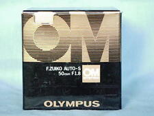 OLYMPUS OM ZUIKO 50mm F1.8 LENS NEW IN BOX